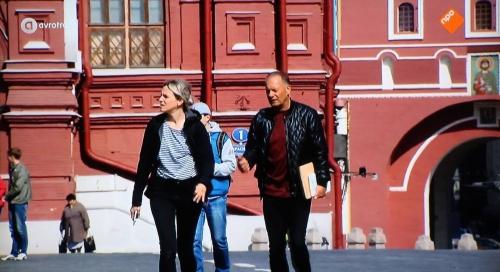 WIDM, Loes Haverkort en Ron Boszhart in Moskou