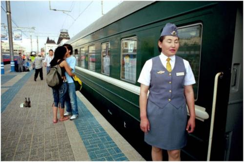 Transmongolian goodbye / Foto Hans Hendriksen