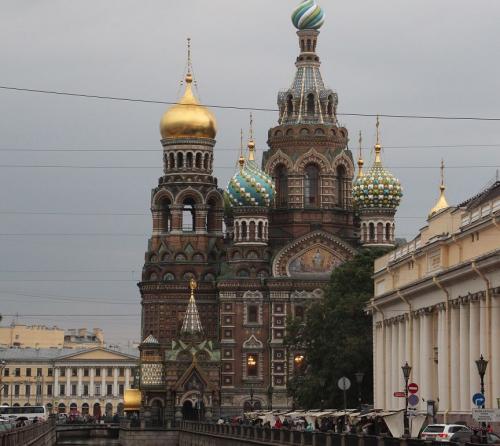 St Petersburg, kathedraal op het bloed